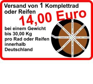 Reifentransporte Kompletträderversand Ab 1400 Euro Kompletträder